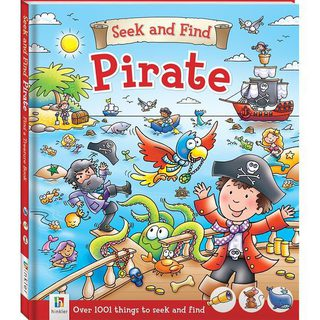 Book: Seek and Find - Pirate