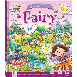 Book: Seek and Find - Fairy