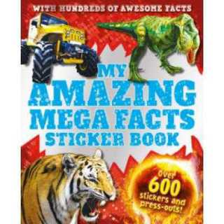 Book: My Amazing Mega Facts Sticker Book