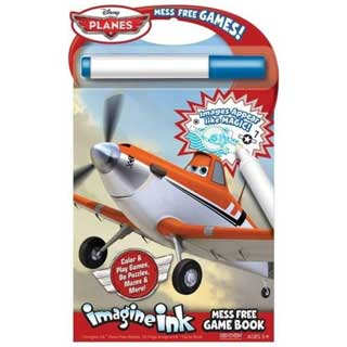 Disney Planes Mess Free Game Book