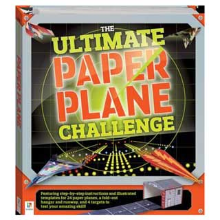 The Ultimate Paper Plane Challenge Binder