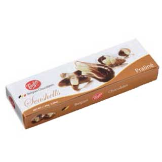 Trefin Belgian Chocolate Seashells 65g