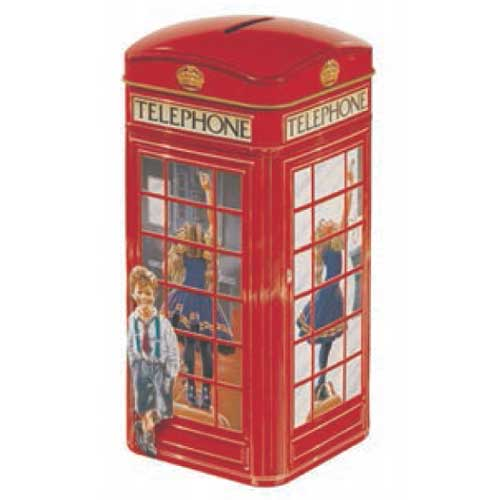 Churchill's Telephone Box Toffee Tin 200g