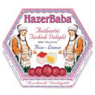Hazer Baba Turkish Delight 125g