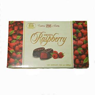 Sweets Raspberry Chocolates 200g