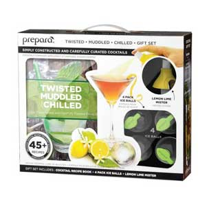 Prepara Cocktail Gift Set - Twisted Muddled and Chilled