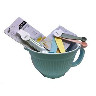 Avanti Ribbed Baking Set - Duck Egg Blue