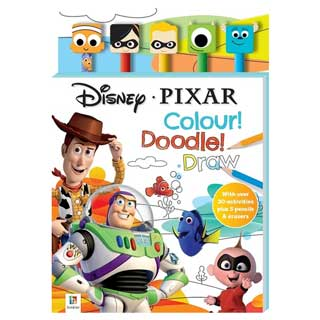 Disney Pixar Doodling Fun Book