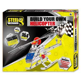 Steel Mechanix Build Your Own Helicopter