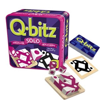 Mindware Games: Q-Bitz Solo Game - Magenta Edition
