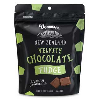 Donovans Velvety Chocolate Fudge 200g