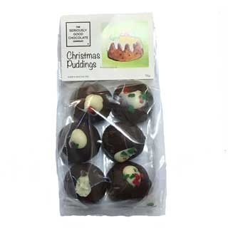 Seriously Good Chocolate Company Christmas Pudding Truffles - 6 Pack
