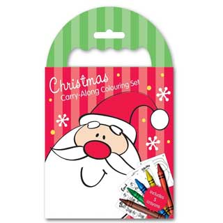 Christmas Carry-Along Colouring Set