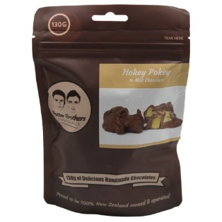 Potter Brothers Chocolates: Hokey Pokey in Milk Chocolate 130g
