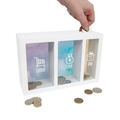 Spend Save Give Change Box