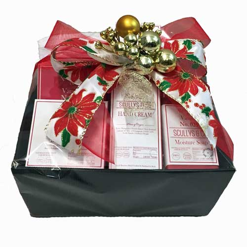 Scullys & Co Red Fig & Vanilla Gift Basket