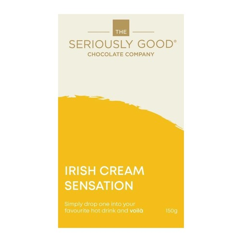Seriously Good Chocolate Company Irish Cream Sensations 150g