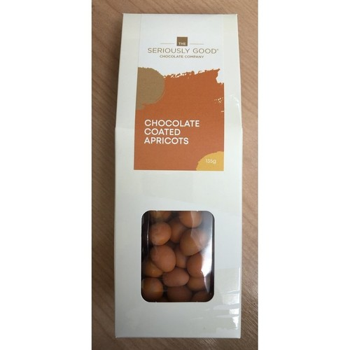 Seriously Good Chocolate Company Chocolate Coated Apricots 135g