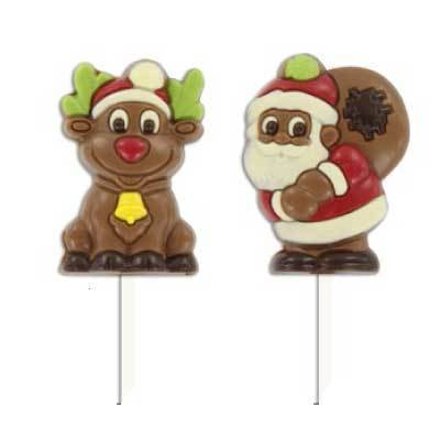 Martinez Chocolate Christmas Lollipop (Each)