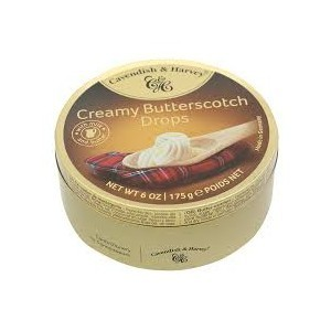 Cavendish & Harvey Creamy Butterscotch Drops 200g