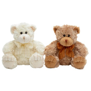 Teddy Bear - Georgie 35cm Brown or Cream