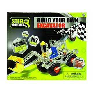 Steel Mechanix Build Your Own Excavator