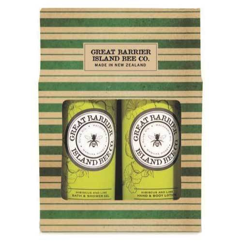 Great Barrier Island Hibiscus & Lime Gift Set